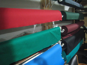Green Bay pool table recovering, pool table cloth colors