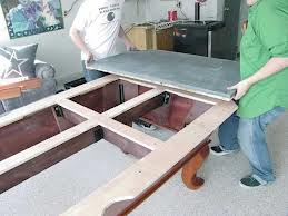Pool table moves in Green Bay Wisconsin