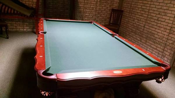 Solo 174 Fond Du Lac Olhausen Quot New Orleans Quot Pool Table 1
